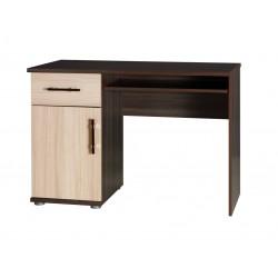 PC stolík - jaseň tmavý/jaseň