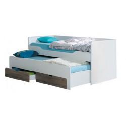 Dvojlôžková detská posteľ Rico