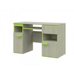 PC stolík - jaseň/zelená