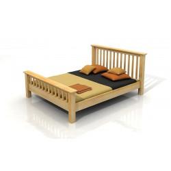 Borovicová manželská posteľ vo viacerých rozmeroch