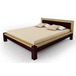 Manželská posteľ z bukového masívu
