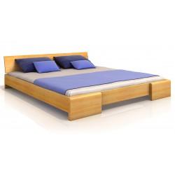 Masívna posteľ z bukového dreva
