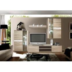 Obývačka vo farbe sonoma/béžová
