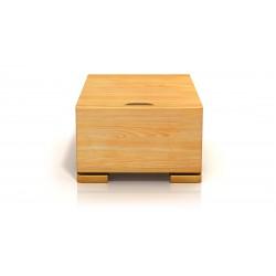 Nočný stolík z borovice vo viacerých moreniach