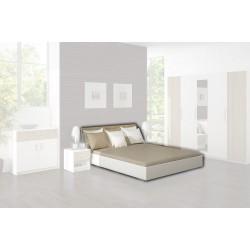 Manželská posteľ Alex s roštom