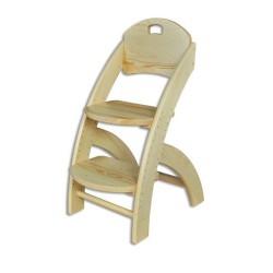Detská stolička z masívu