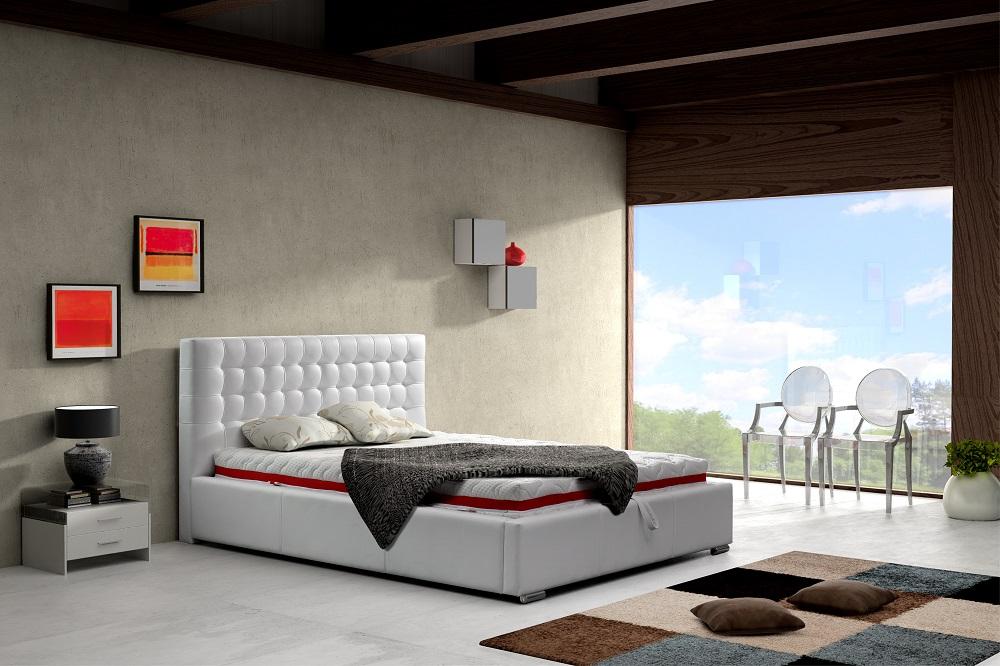 83655b56e5d9 Moderná posteľ pre manželov Alice