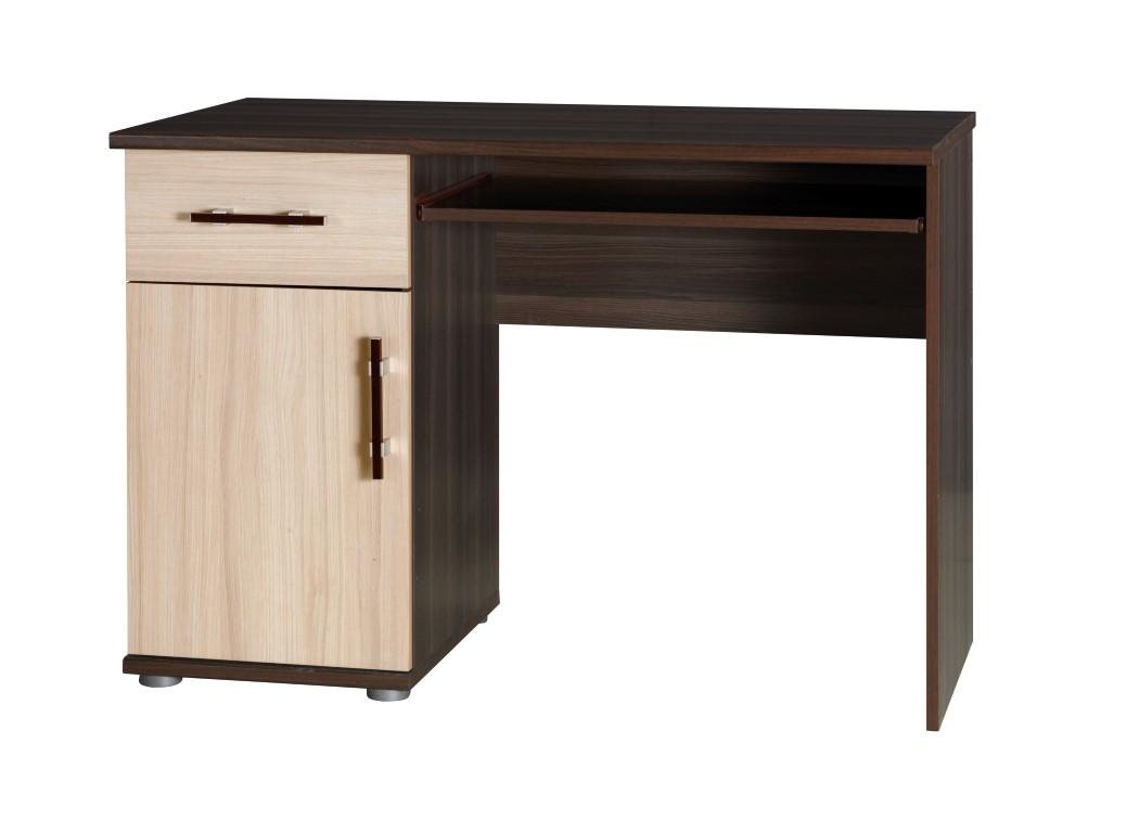 PC stolík - jaseň tmavý/jaseň INEZ 14