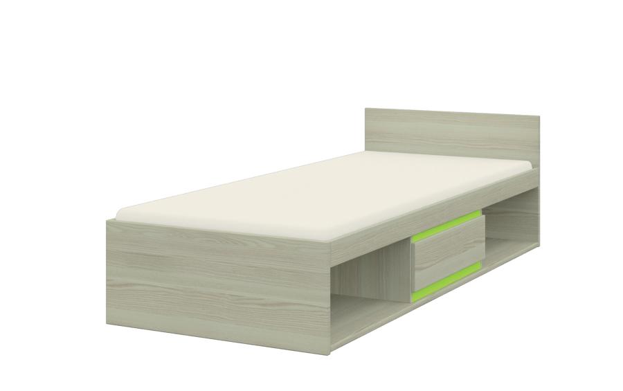 Jednolôžková posteľ Klaudius KLAUDIUS TYP 12