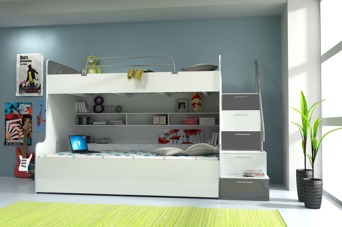 Multifunkčná posteľ RAJ 2 RAJ 2