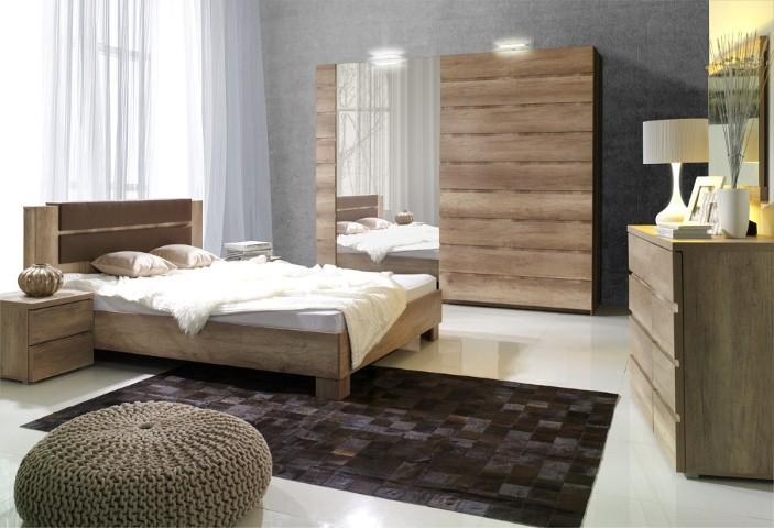 Moderná spálňa Miro MIRO ZOSTAVA