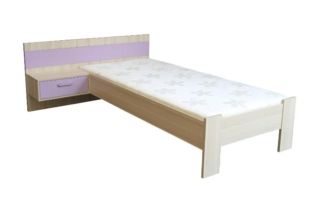Detská posteľ s nočným stolíkom COMINO 3