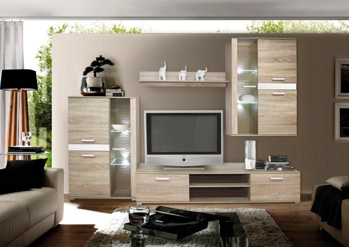 Obývačka vo farbe sonoma/béžová COSTA