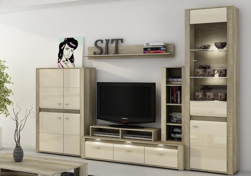 Obývačka vo farbe country/jazmín CAMPARI MEBLOSCIANKA