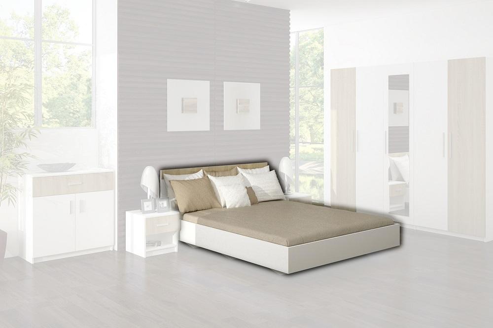 Manželská posteľ Alex s roštom ALEX 31 LOZE 160/200+ROST