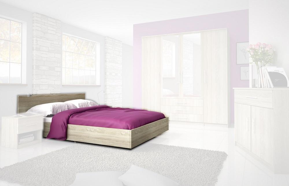 Manželská posteľ Szantal SZANTAL 31 LOZE 160/200