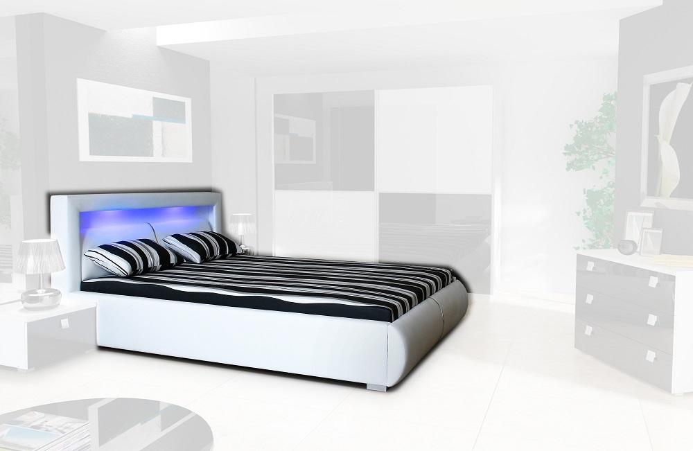 Manželská posteľ Milano s roštom MILANO LOZE + ROST/UP